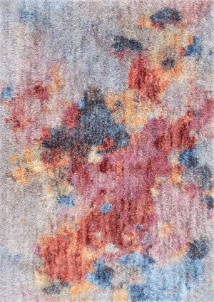 Nuloom Karissa Abstract Shag Multi Area Rug
