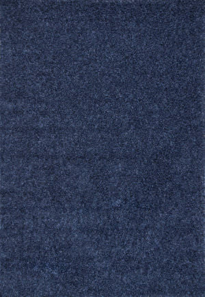 Famous Maker Marleen Plush Navy Area Rug