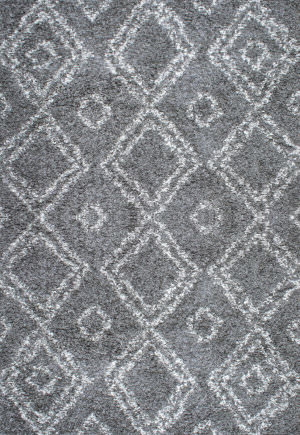 Nuloom Iola Easy Shag Grey Area Rug