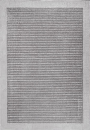Nuloom Ardath Solid Grey Area Rug