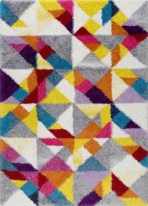 Nuloom Deedee Mosaic Shaggy Multi Area Rug