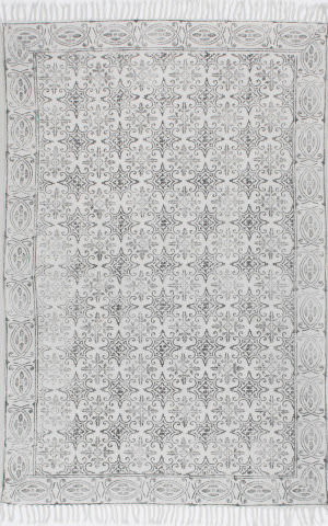Nuloom Handmade Suzette Off White Area Rug