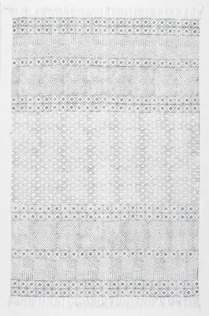 Nuloom Handmade Ammie Grey Area Rug