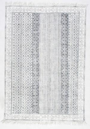 Nuloom Handmade Kameron Grey Area Rug
