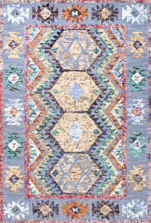 Nuloom Hand Tufted Tribal Paola Multi Area Rug