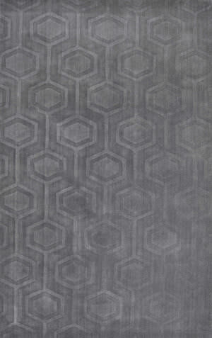 Nuloom Hand Woven Ambrose Grey Area Rug
