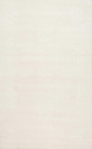 Nuloom Hand Woven Necole Ivory Area Rug