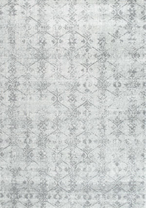 Nuloom Vintage Meade Silver Area Rug