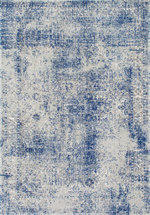 Famous Maker Vintage Willena Blue Area Rug