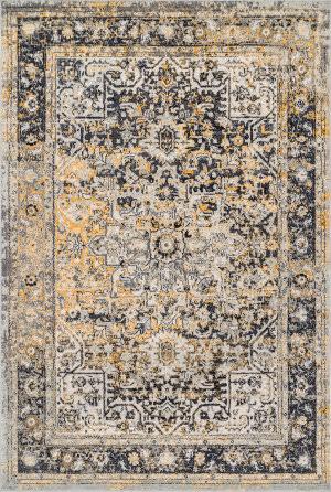 Nuloom Raylene Persian Vintage Gold Area Rug