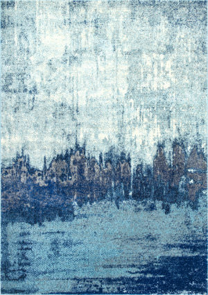 Nuloom Alayna Abstract Blue Area Rug