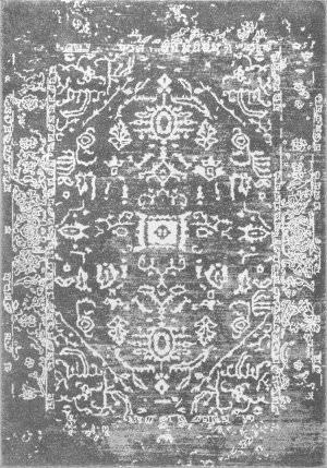 Nuloom Vintage Tribal Shaina Charcoal Area Rug