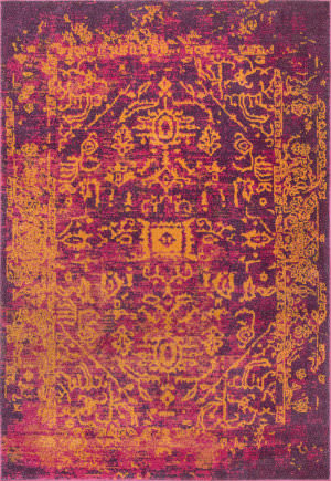 Nuloom Vintage Tribal Shaina Orange Area Rug
