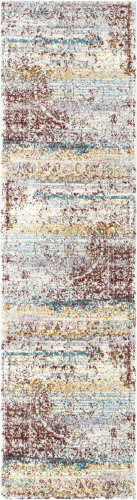 Nuloom Vintage Medallion Denice Rust Area Rug