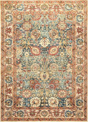 Nuloom Persian Floral Lorna Beige Area Rug
