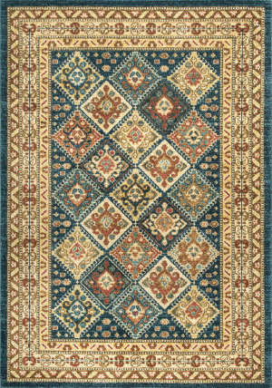 Nuloom Tribal Tiles Cyndi Green Area Rug