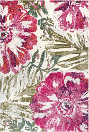 Nuloom Maria Floral Pink Area Rug