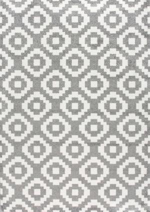 Nuloom Pixel Julian Grey Area Rug