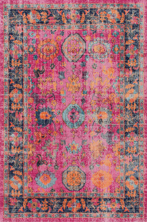 Nuloom Persian Garden Pink Area Rug