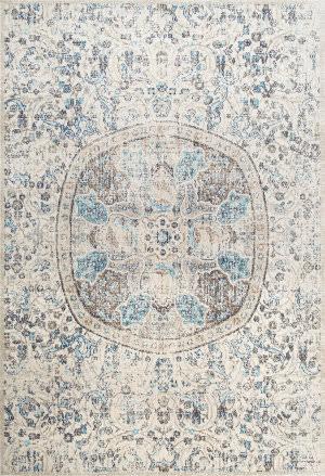 Nuloom Celina Floral Mandala Beige Area Rug