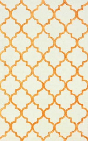 Nuloom Hand Tufted Park Avenue Tangerine Area Rug