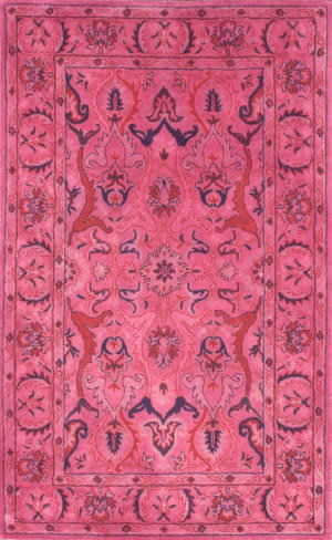 Nuloom Hand Tufted Kimberly Overdyed Pink Area Rug