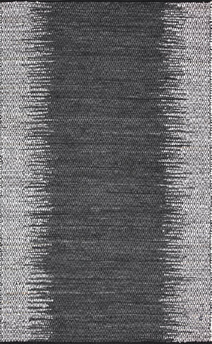 Nuloom Ombre Diamond Leather Grey Area Rug