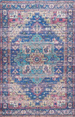 Nuloom Melinda Flatweave Blue Area Rug