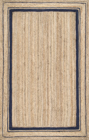 Famous Maker Braided Rikki Navy Area Rug
