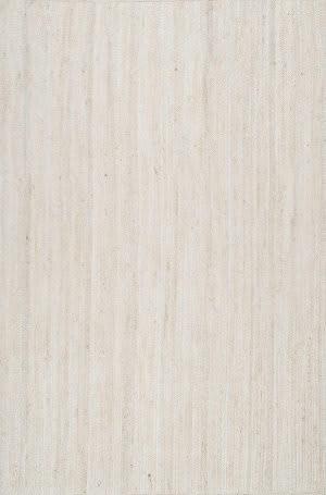 Nuloom Hand Woven Rigo White Area Rug
