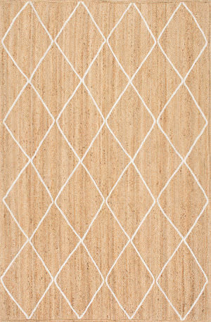 Famous Maker Caleb Trellis Natural Area Rug