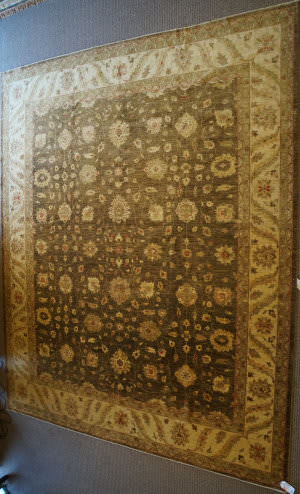 ORG Peshawar Ult-393 Brown And Beige Area Rug
