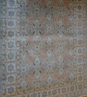 ORG Peshawar Ult-715 Brown And Beige Area Rug