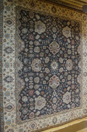 ORG Antiqued Jaipur Om-2 Brown/Ivory Area Rug