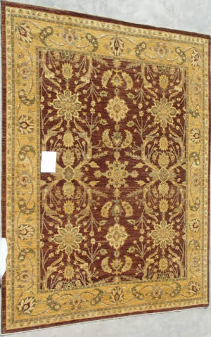ORG Peshawar Ult-443 Brown - Gold Area Rug