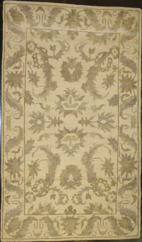 ORG Mirzapur K-34 Ivory Area Rug