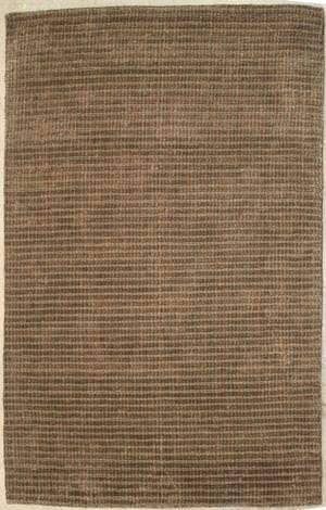 ORG Natural Weaves Stripe 33 Brown - Blue Area Rug