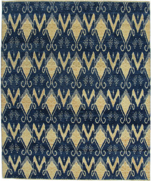ORG Angura 801 Dark Blue Area Rug