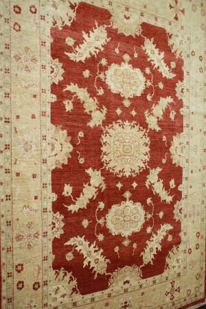 ORG Peshawar N-19b Red - Gold Area Rug