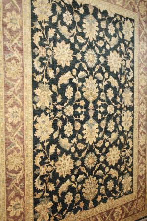 ORG Peshawar Ult-138 Black And Brown Area Rug