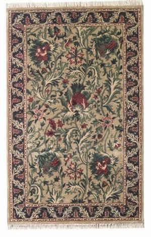 ORG Handtufted Thistle Beige/Charcoal Area Rug