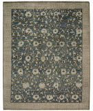 ORG Relic Scattered Vine Blue Area Rug