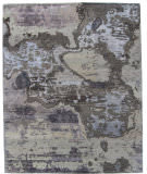 ORG Synthesis Abstract D4 Multi Area Rug