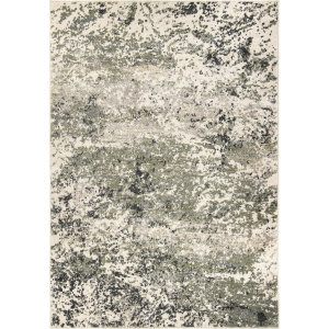 Orian Reflections Storm Surge Soft White Area Rug
