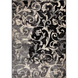 Orian American Heritage Distressed Scroll Taupe Area Rug