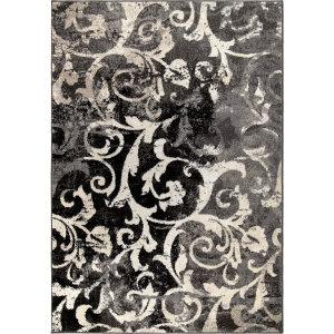 Orian American Heritage Watercolor Scroll Silverton Area Rug