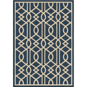 Orian Four Seasons Barcelona Catalina Blue Area Rug