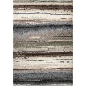 Orian Wild Weave Dusk To Dawn Muted Blue Area Rug