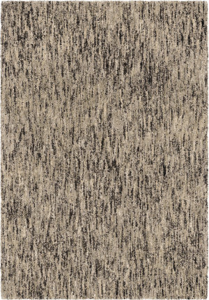 Orian Super Shag Multi Solid Multi Silver Area Rug