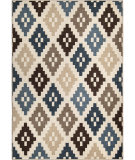 Orian Farmhouse Nordic Diamonds Seashell Area Rug